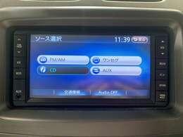 【純正7インチメモリナビ】FM/AM/TV/CD/AUX