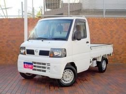 日産 クリッパートラック 660 DXエアコン付 4WD 5MT パワーステアリング AM/FMラジオ