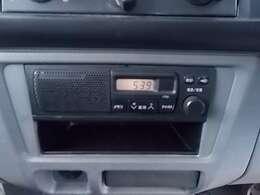 AM/FM付きラジオ