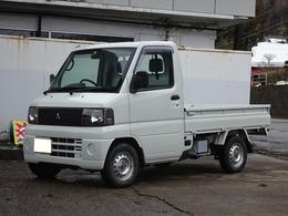 三菱 ミニキャブトラック 660 Vタイプ 4WD エアコン パワステ タイベル交換済