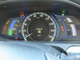 確認しやすいメーターパネルで運転をサポート!