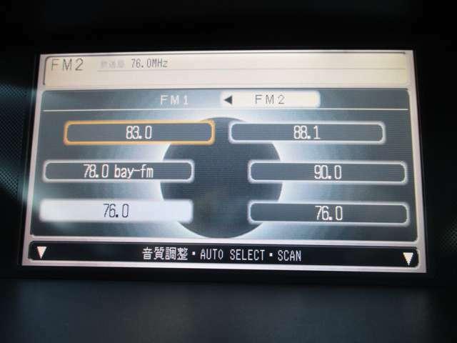 純正HDDナビ フルセグ ミュージックサーバー バックカメラ付きで駐車時も安心です!
