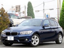 BMW 1シリーズ 118d スポーツ メーカーHDDナビ レーンディパーチャー