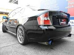 BLITZ車高調 ガナドールマフラー HKSエアクリーナー 5速MT スリットローター 18インチAW ETC HID
