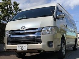 トヨタ ハイエース 2.7 グランドキャビン 4WD デジタルインナーミラー Bカメラ ETC