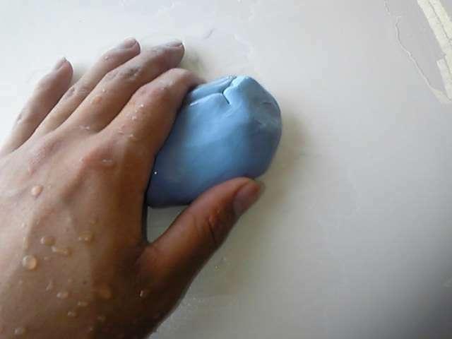 Aプラン画像:トラップ粘土で鉄粉や、油分などを除去します