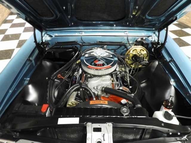 エンジンは396で4MTの組み合わせは非常に快適で、機関も良好です。