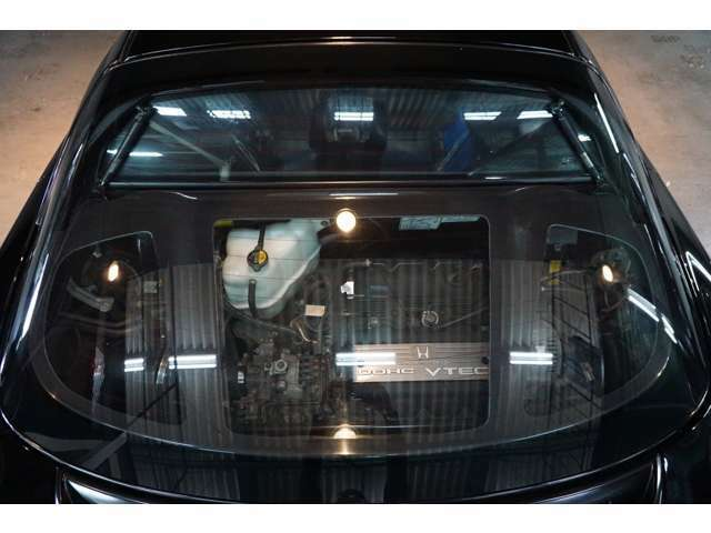 DOHC VTEC3000ccエンジン メンテナンスカーボンリッド
