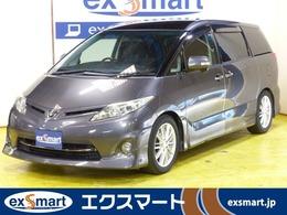 トヨタ エスティマ 2.4 アエラス HID サンルーフ 両側電動ドア 地デジ