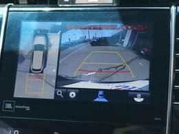全方位カメラ付きで縦列駐車等も安心です☆