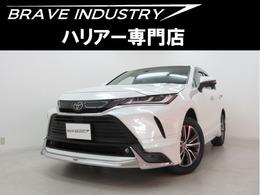 トヨタ ハリアー 2.0 G 新車内装ブラウンモデリスタエアロ Dミラー