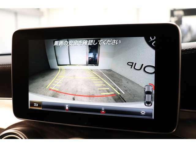 目視が出来ない車輌後方を鮮明にナビ画面に映し出すガイドライン付きバックカメラ!日々の車庫入れをサポート致します!
