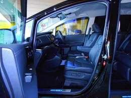 コンフォートビューパッケージ(ヒーテッドドアミラー+フロントドア撥水ガラス)、LEDサイドステップガーニッシュ&LEDフットライト(光のアイテムパッケージ)、助手席4ウェイパワーシート