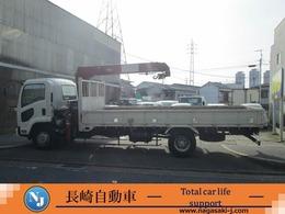 いすゞ フォワード ユニッククレーン2.9t吊 ラジコン付 タダノ製3段ユニック 荷台鉄板