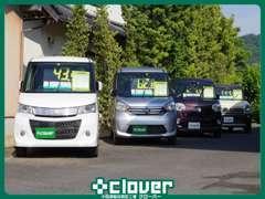 ワンオーナー車を中心に常時20台ほどの車両を展示しております!!