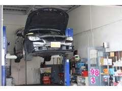 安心の認証工場ですので納車整備はもちろん購入後のアフターサービスもご安心下さい!