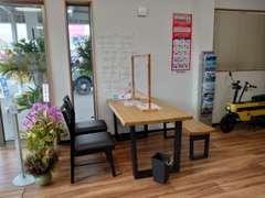 事務所は第2商談スペースまであります(^^)お気軽にどうぞ!