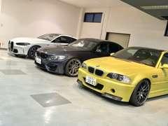 BMWのMモデルを常時、多数展示しています。アフターメンテナンスもお任せ下さい。