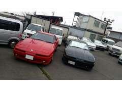 代表のワタクシ、横山 90'S車が好きです。特に70スープラが好きです。好きこそ物の上手なれです^^常に在庫を心掛けています