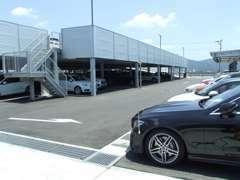 亀岡にあるマツシマホールディングス自慢のPDIセンター!整備やメンテナンスなど一括で仕上げます。