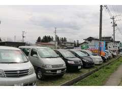 常時70台の在庫を展示しております!在庫にないお車もお探しいたします!お気軽にお問い合わせください♪