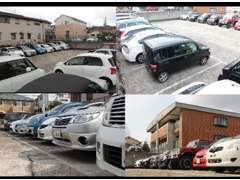 店舗近くに第2ヤード在庫多数あります。掲載外車両などもあります。ご案内はこちらの場合もございます。