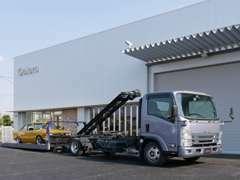 自社キャリアカー完備で御納車、万が一のトラブルに対応致します。
