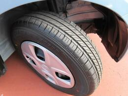 【タイヤ】タイヤの溝もまだまだ残っていますので、ご安心してお乗り頂けます。