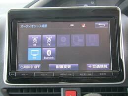 トヨタ純正9インチナビを装備。DVD再生,フルセグ、ブルートゥースも可能です。