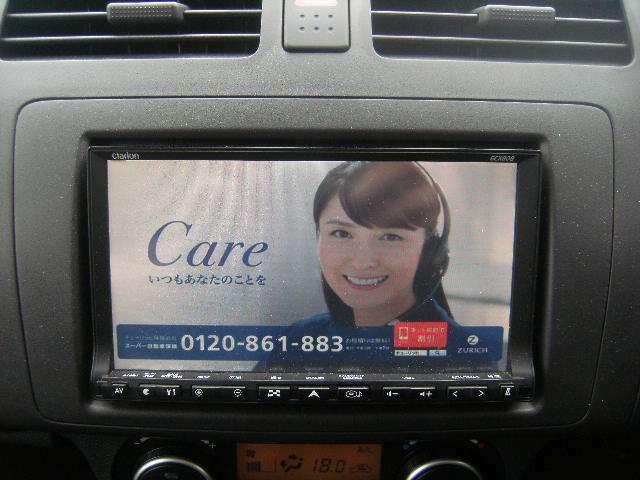 HDDナビ(DVD映像再生可能)フルセグTV CD