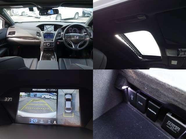 ◆純正HDDナビ! フルセグTV! サンルーフ! アラウンドビューモニター!  USB! AUX! HDMI!