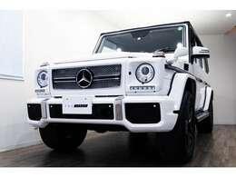 正規ディーラー車 M-Benz G350ブルーテックロング  右ハンドル ポーラーホワイト/ブラウンレザー