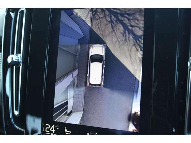 360度カメラ付きなので安心