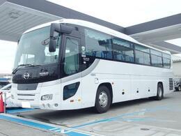 日野自動車 セレガ ハイデッカ 大型観光バス 53人乗 貫通トランク3個
