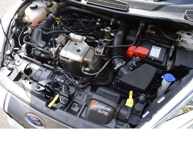 革新的な1.0L EcoBoostエンジンを搭載し1.6リッターに匹敵するパワーと振動が出やすい3気筒エンジンをあらかじめ回転時に振動を打ち消す設計を施す設計もされ乗り心地も快適です!