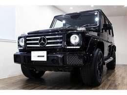 正規ディーラー車 M-Benz G350d  右ハンドル オブシディアンブラック/ブラックレザー