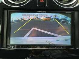 【バックモニター】後方の安全確認ができます。駐車が苦手な方にもオススメな便利機能です♪