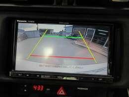 社外ストラーダSDナビ付き♪ ガイド線付バックカメラで駐車も安心ですね♪ 広角のカメラを使用しております♪
