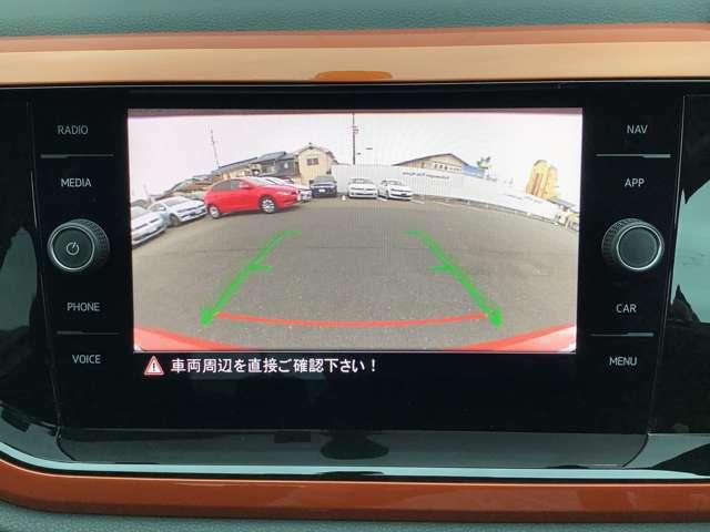 バックカメラ(RearAssist)標準装備。高画質カメラで駐車時・後退時も安心です。