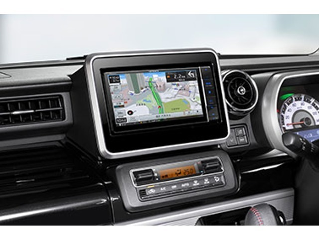 スマイルセットNo.1 【フルセグTVナビ】お客様のニーズに合わせて機種を選べます。エントリーモデルからハイスペックモデルや、7インチから11インチまでラインナップ★走行中のTV視聴も可能です。