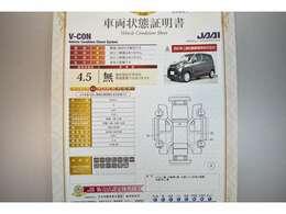 日本自動車査定協会認定検査員による車両検査済み!総合評価4.5点(評価点はS~Rの評価で令和3年3月現在のものです)☆お問合せ番号は41020436です♪