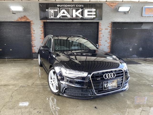 Audi A6 アバント 2.8FSI クアトロ Slineパッケージ入庫致しました!!