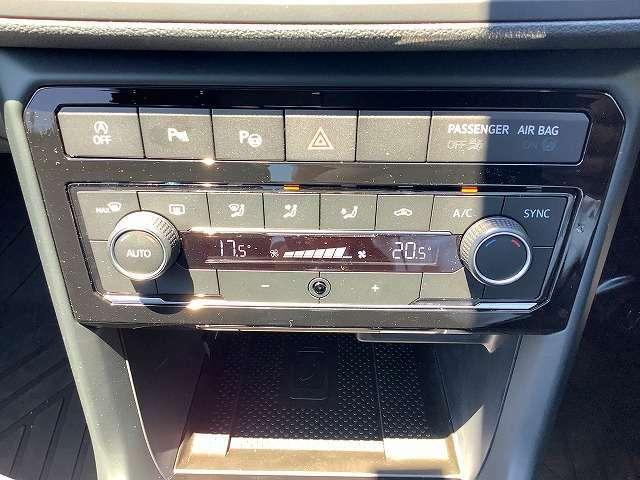 2ゾーンフルオートエアコンディショナー搭載。運転席、助手席の2つのゾーンで温度などを独立して設定でき、内蔵されたフレッシュエアフィルターは花粉やダストの除去をしてくれます。