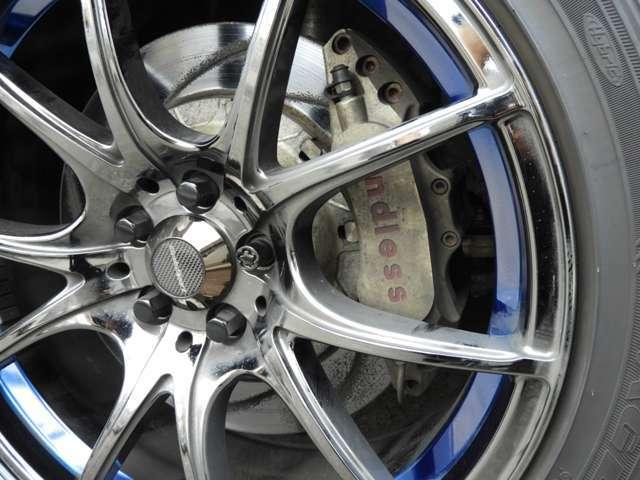 ENDLESSキャリパー6ot,4pot&ローター BILSTEIN車高調 GPスポーツマフラー HKSエアクリ STIタワーバー HKSフロントパイプ Wedssports18インチAW KENWOODナビ 地デジTV Bluetoothオーディオ バックカメラ スロコン