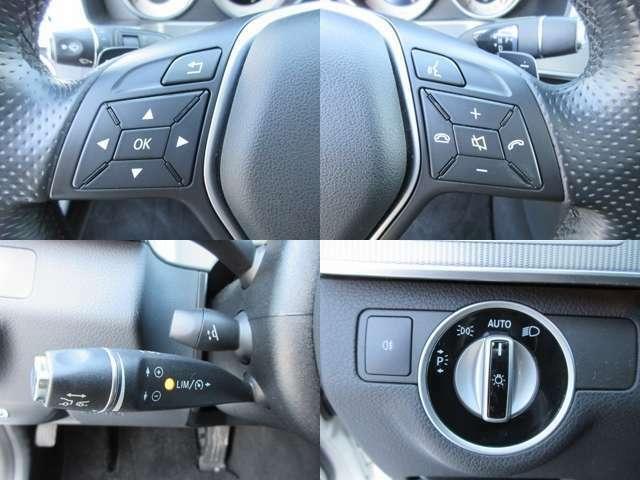 ステアリングスイッチ/パドルシフト/レーダークルーズコントロール/電動ステアリングチルト/オートライト装備