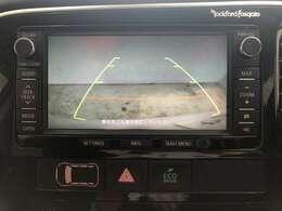 大きくてもバックカメラがあれば駐車しやすいです!