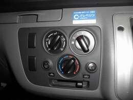 快適に運転出来る様にエアコンがついています
