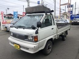 トヨタ ライトエーストラック 2.0 DX シングルジャストロー ロング木製デッキ 三方開 ディーゼル 4WD