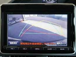バックモニター付きですよ☆後ろが見難くても、駐車時の後方確認も出来ますので安心です♪駐車場のフェンス…縁石…もこれがあれば安心ですよ☆ ※駐車時には、目視にての周り確認して駐車下さい。