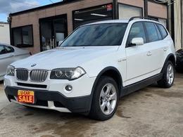BMW X3 2.5si 4WD ETC HDDナビ 電動シート アルミホイール